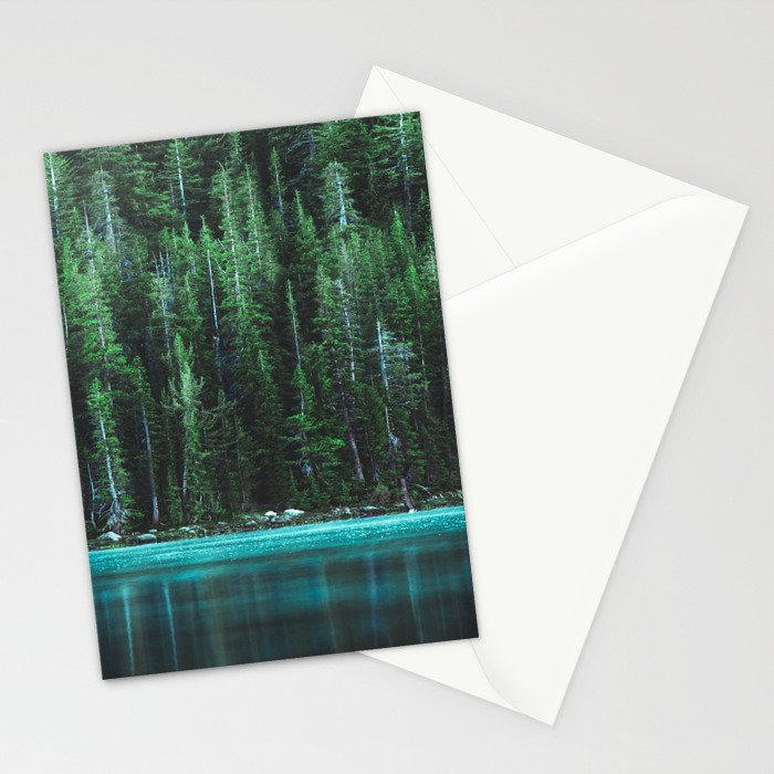 Forest 3 Stationery Cards