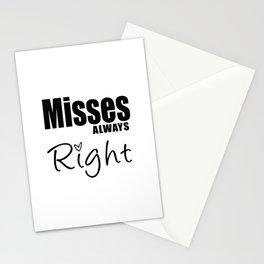Mrs. Valentine Stationery Cards