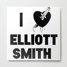 I Heart Elliott Smith Metal Print