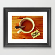 Morning Cup Framed Art Print