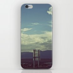 Nothing to Say iPhone & iPod Skin