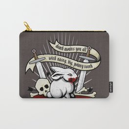 The Rabbit of Caerbannog Carry-All Pouch
