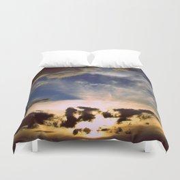 Mystic sunset Duvet Cover