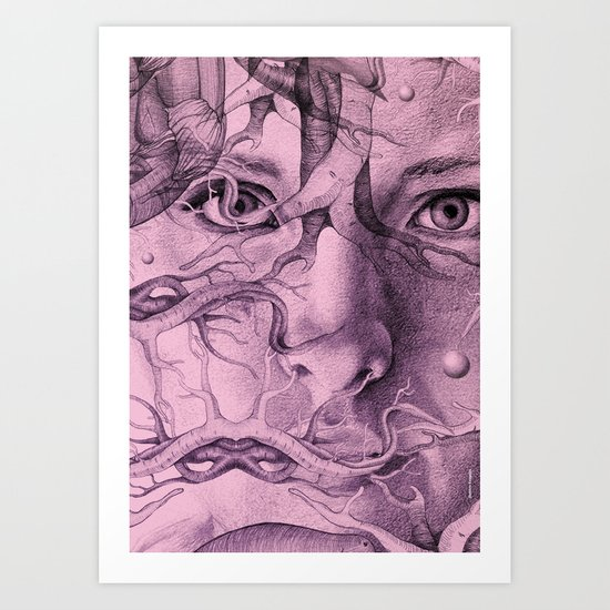 The Moment2 Art Print