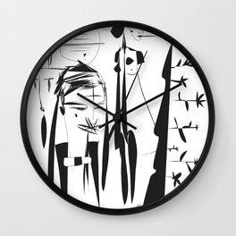 Bells - Emilie Record Wall Clock