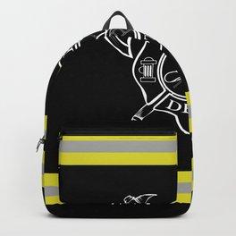Firefighter - Turnout Gear - Maltese Cross Backpack