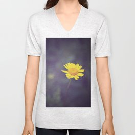 Miss Yellow Daisy Unisex V-Neck