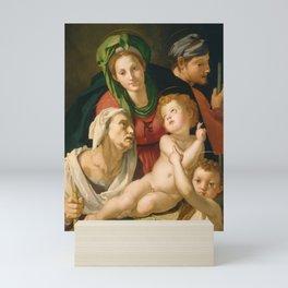 Agnolo Bronzino - The Holy Family Mini Art Print