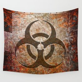Contagion Wall Tapestry