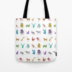 Glitter Animals A Tote Bag