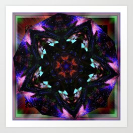 """Pentagram Reflections"" by surrealpete Art Print"