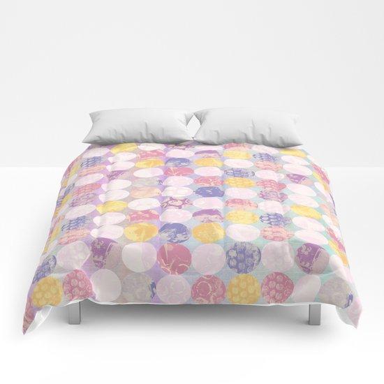 Springtime Circles Comforters