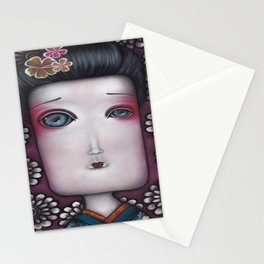 Inevitable silense  Stationery Cards
