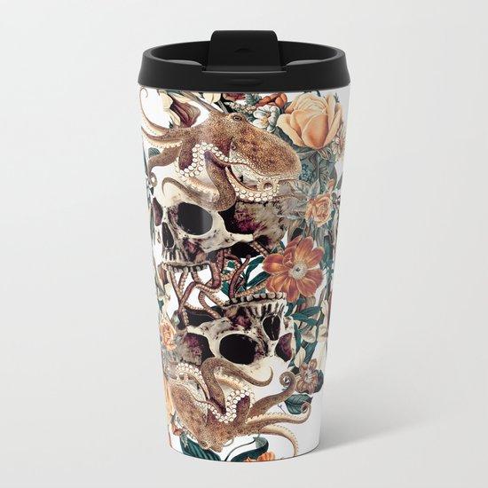 Fantasy Skull Metal Travel Mug