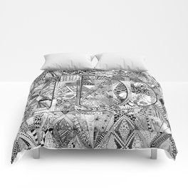 The Letter D Comforters