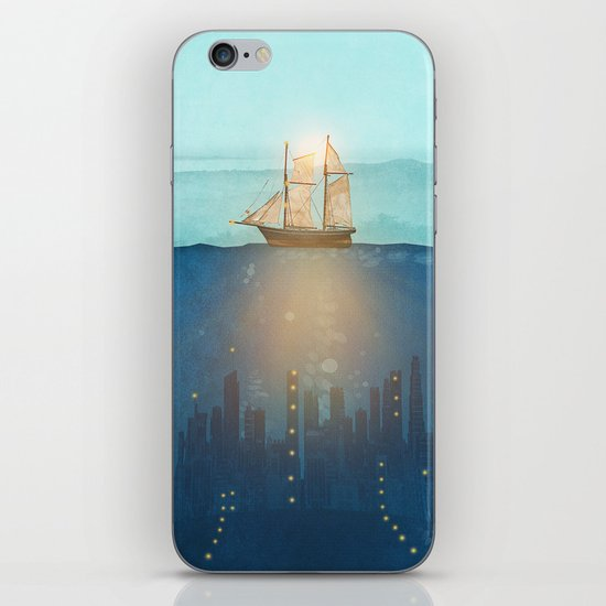 The Underwater City iPhone & iPod Skin