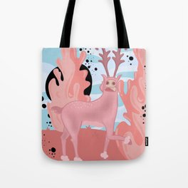 Together in Separate Worlds Tote Bag