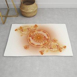 Clockwork - Abstract Fractal Artwork Rug