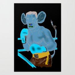 Mice-Tyson Art Print