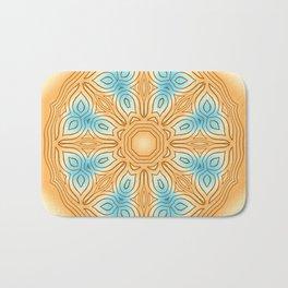 Sea Beach Summer Kaleidoscope Abstract Pattern Bath Mat