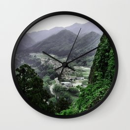 The Valley (Japan) Wall Clock