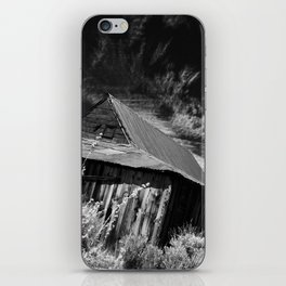 Bodie ghost town house iPhone Skin