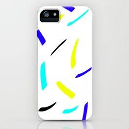 Lines cold design iPhone Case