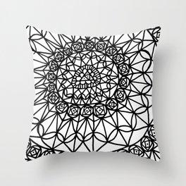 Doodle 12 Throw Pillow