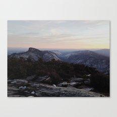 Linville Gorge Winter Canvas Print