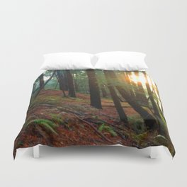 Talking To The Trees Duvet Cover