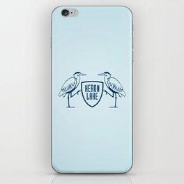 HERON LAKE iPhone Skin