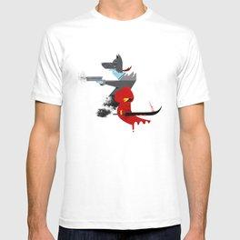 Red Hood & The Badass Wolf Redux T-shirt
