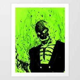 Blight on the World Art Print