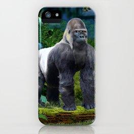 Silverback Gorilla Guardian of the Rainforest iPhone Case