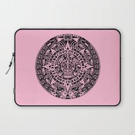 Mayan Calendar // Pink Laptop Sleeve