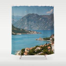 Bay Of Kotor Shower Curtain