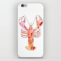 lobster iPhone & iPod Skins featuring Lobster by fossilized