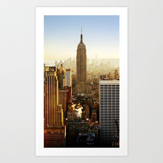 New York City Sunshine Art Print