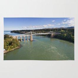 Menai bridge 1 Rug