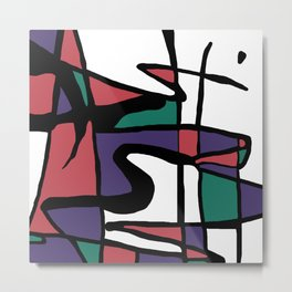Abstract Painting Design - 5 Metal Print