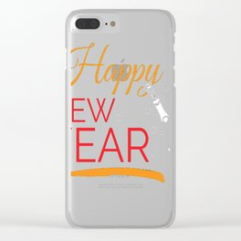 34 copy Clear iPhone Case