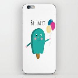 Happy icecream iPhone Skin