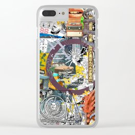 Pop UP - THREE Clear iPhone Case