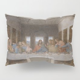 "Leonardo da Vinci ""The Last Supper"" Pillow Sham"