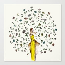 Paris Summer | The Flower Girl Canvas Print