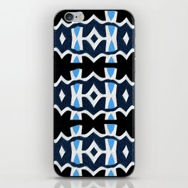 Turquoise Neo Tribal Modern iPhone Skin