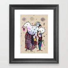 Birdy Mysterium Framed Art Print