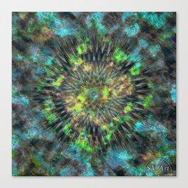 Outwards Canvas Print