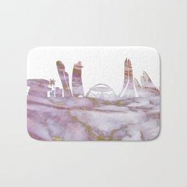 Abu Dhabi City Skyline Bath Mat