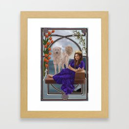 Hecuba Framed Art Print